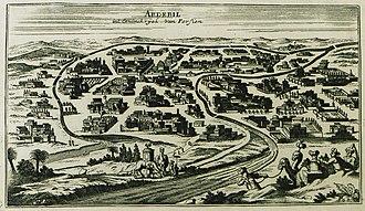 Ardabil - Ardabil in 1690