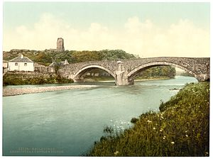 River Stinchar - Ardstinchar Castle and the bridge over the river