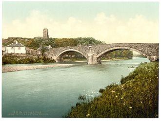 River Stinchar - Ardstinchar Castle and the bridge over the river
