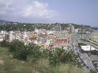 Arenys de Mar - Image: Arenys vista dalt