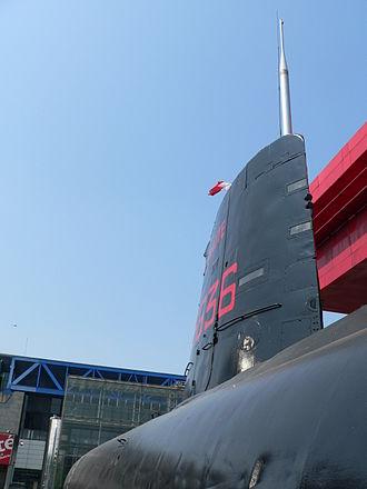 Aréthuse-class submarine - Image: Argonaute FS S636 p 1040846
