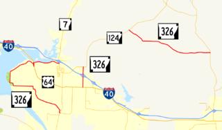 Arkansas Highway 326 highway in Arkansas