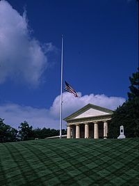 Arlington House Half-mast 28 May 2011