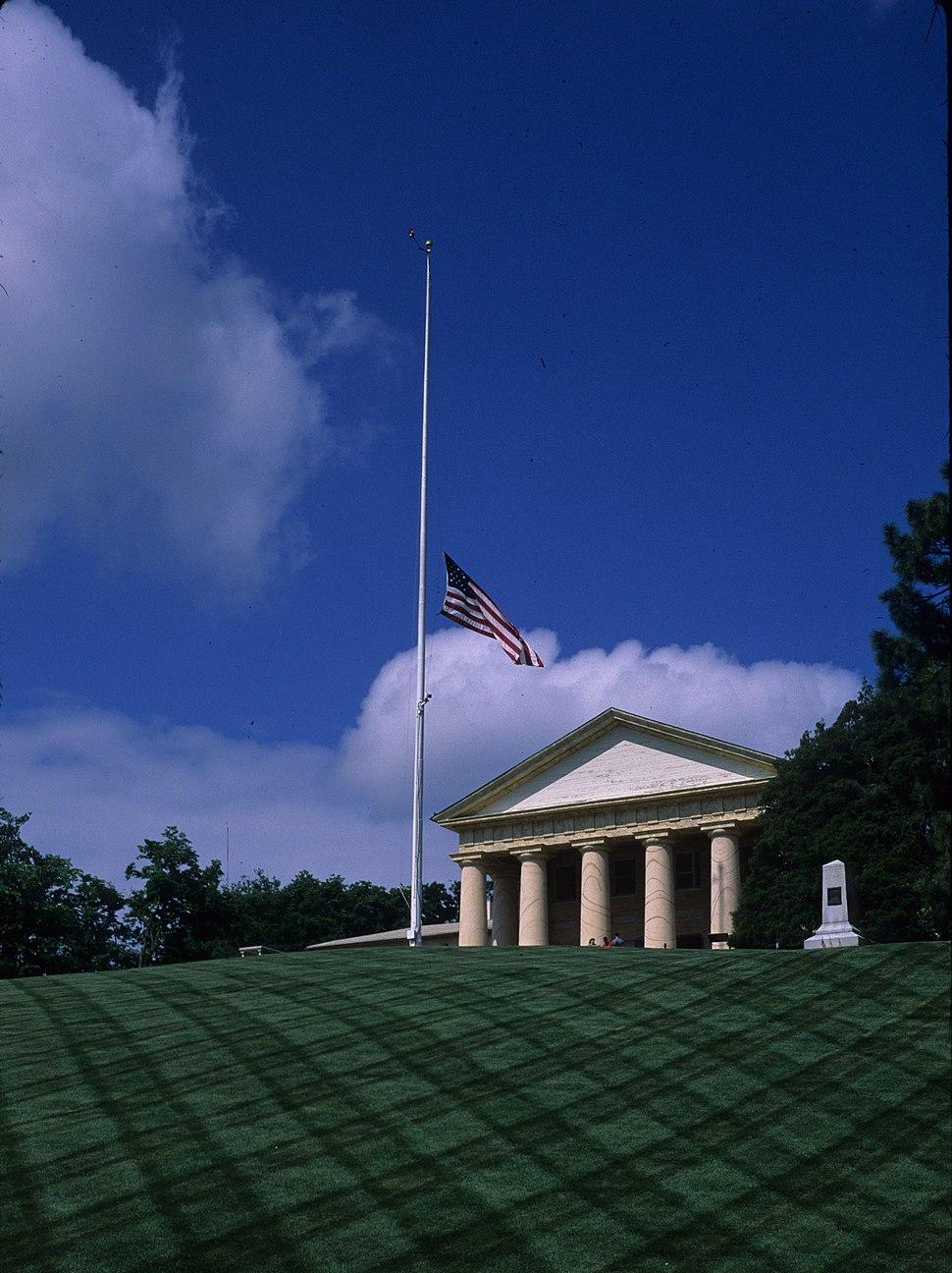 Arlington House Half-mast 28 May 2011