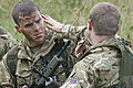 Army Reservists Applying Camouflage MOD 45156162.jpg