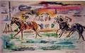 Arnaud Courlet de Vregille, Douard III, 1996, 120 x 80 cm, Acrylique et pastel.tif