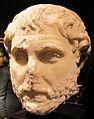 Arte romana, ritratto di filosofo, marmo pario, 100-120 dc, collez. privata 01.JPG