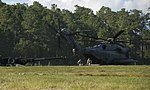 Artillery in the air, Helicopters rapidly deploy M777 Howitzer during training exercise 140930-M-VS306-100.jpg