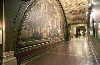 Leighton Frescoes cycle of frescos by Frederic Leighton, 1st Baron Leighton