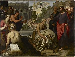 Artus Wolffort - Christ at the Pool of Bethesda