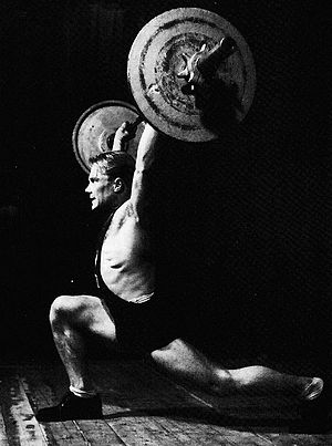 Arvid Andersson (weightlifter) - Image: Arvid Andersson