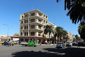Economy of Eritrea - Harnet Avenue in Asmara