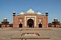 Assembly Hall with Fountain - Western View - Taj Mahal Complex - Agra 2014-05-14 3899.JPG