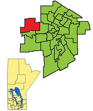 Assiniboia (provincial electoral district) - Image: Assiniboia 2011