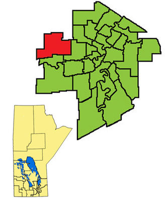 Assiniboia (provincial electoral district) - Image: Assiniboia 2011
