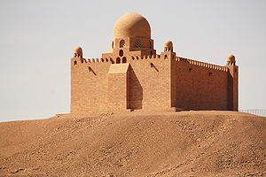 Aga Khan III - Mausoleum of Aga Khan – Aswan, Egypt.