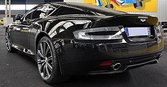 Aston Martin DB9 - Aston Martin DB9 (2013 facelift)