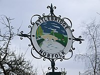 Attlebridge Village Sign - geograph.org.uk - 347287.jpg