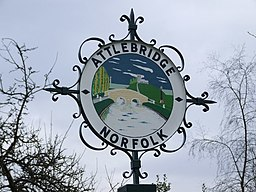 Attlebridge Village Sign - geograph.org.uk - 347287.jpg