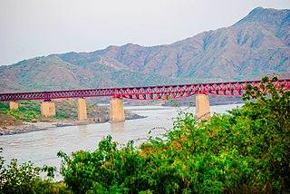Attock City in Punjab, Pakistan