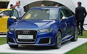 C-segment - Image: Audi Rs 3 8V