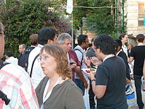 Auditorium Garden Cocktail - Wikimania 2011 P1040118.JPG
