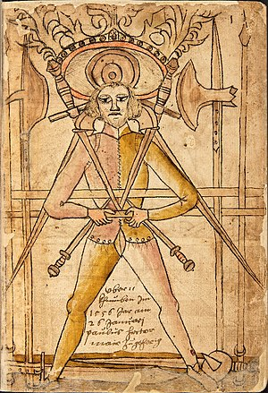 Historical European martial arts - The first page of the Codex Wallerstein shows the typical arms of 15th-century individual combat, including the longsword, rondel dagger, messer, sword-and-buckler, halberd, spear, and staff.