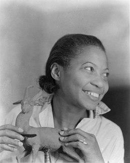 Augusta Savage American sculptor