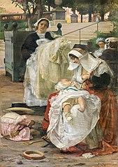 Les nounous ariégeoises et bretonnes