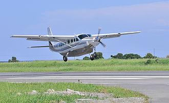 Auric Air - The Auric Air Cessna Model no 208.