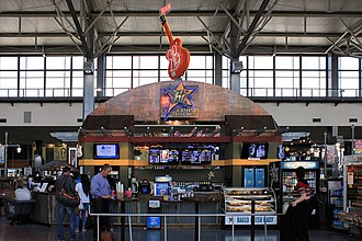 Austin–Bergstrom International Airport - Concessions in the Barbara Jordan Terminal