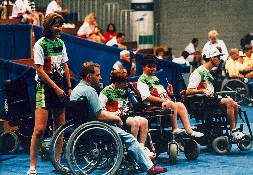 Australian Boccia team members