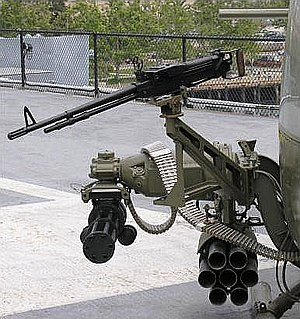Bell UH-1 Iroquois - Typical armament for UH-1 gunship