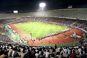2008 West Asian Football Federation Championship - Image: Azadistadium tehran iran