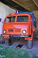 Bývalé zásahové vozidlo SDH, Muzeum Kořenec, okres Blansko.jpg