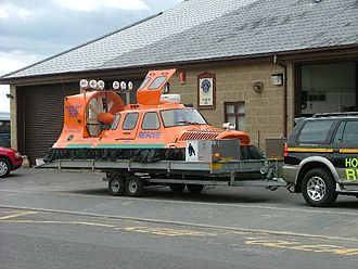 Burnham-on-Sea - BARB rescue hovercraft Spirit of Lelaina