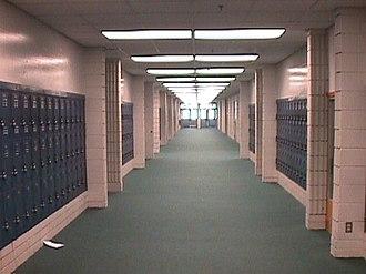 Barron G. Collier High School - Image: BCHS halls