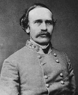 Battle of White Oak Road -  Major General Bushrod Johnson