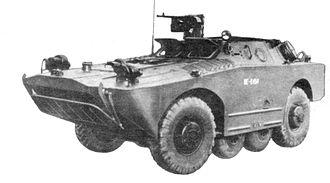 BRDM-1 - BRDM-1 in Polish service, 1970s.
