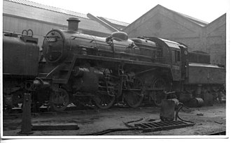 Darlington Works - Image: BR standard class 3 2 6 0 77000 at Darlington works