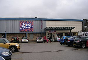 B & M - Image: B and m home store Cavendish Street Retail Park geograph.org.uk 1690142