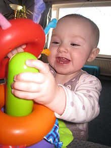 Baby Playing with Stacking Rings.JPG