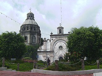 Bacolor, Pampanga - The half-buried San Guillermo Parish Church