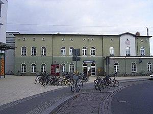 Fürstenwalde (Spree) station - Station forecourt