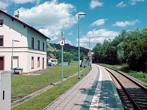 Theisbergstegen - Theisbergstegen station