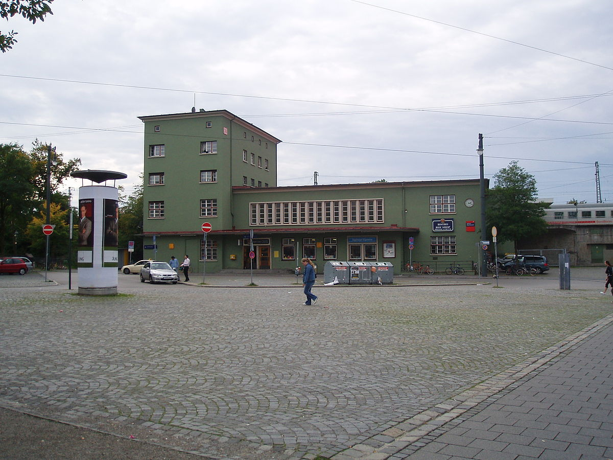 bahnhof augsburg oberhausen wikipedia. Black Bedroom Furniture Sets. Home Design Ideas