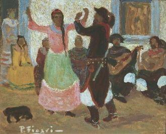 Pedro Figari - Image: Bailecito