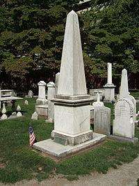 Bainbridge tombstone