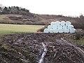 Bales below Ingsdon Hill - geograph.org.uk - 1723880.jpg