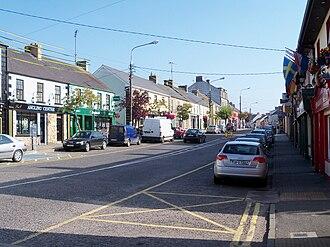 Ballyconnell - Ballyconnell Main Street.